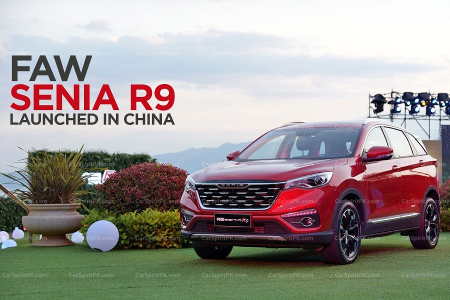 FAW Senia R9 SUV Launched in China 1