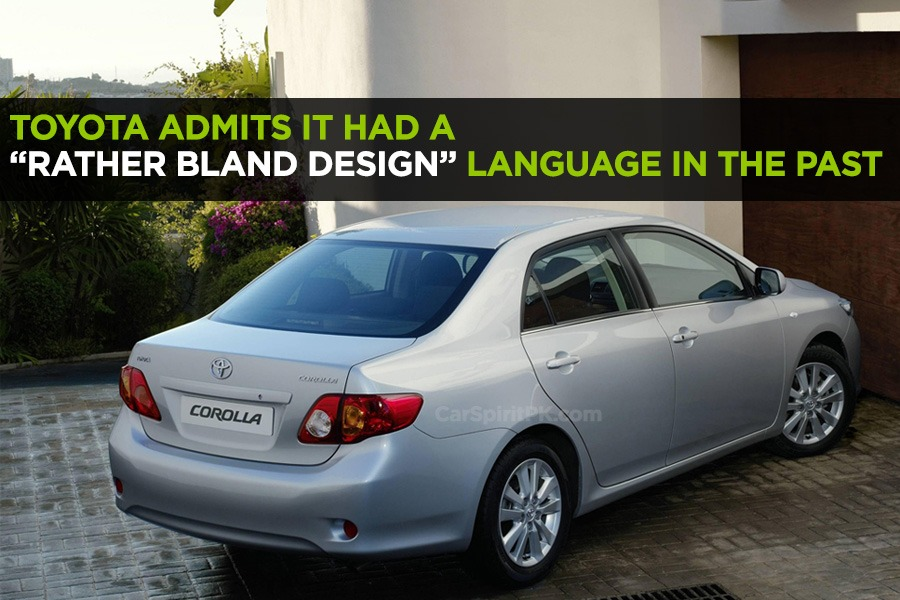 "Toyota Admits it had a ""Rather Bland Design"" Language in the Past 1"