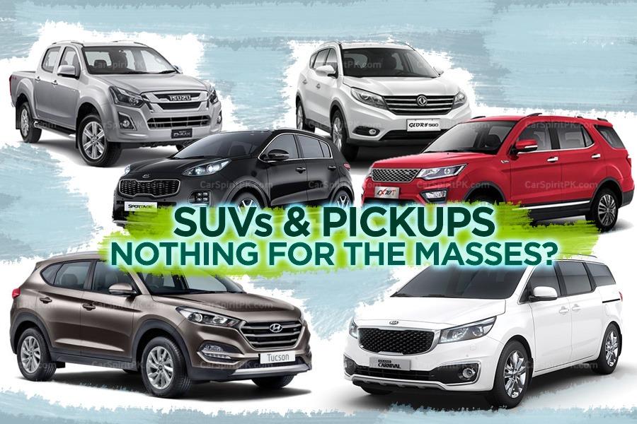 SUVs and Pickups- No Budget Sedans or Hatchbacks 8