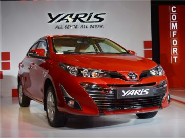 2018 Toyota Yaris Launched in India Priced from INR 8.7 lac 2
