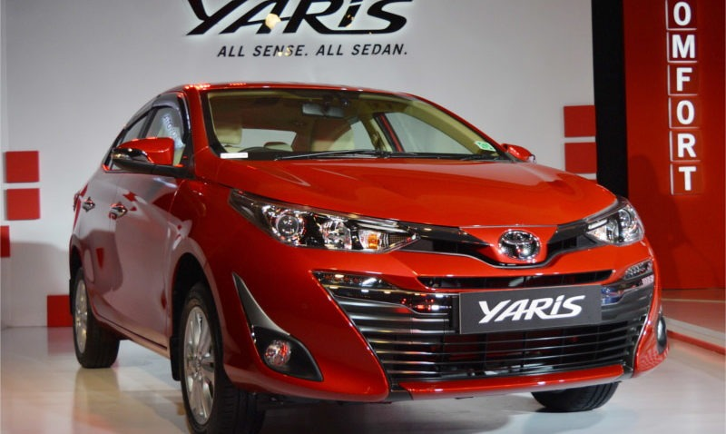 2018 Toyota Yaris Launched in India Priced from INR 8.7 lac 3