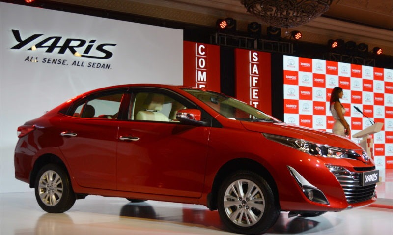 2018 Toyota Yaris Launched in India Priced from INR 8.7 lac 4