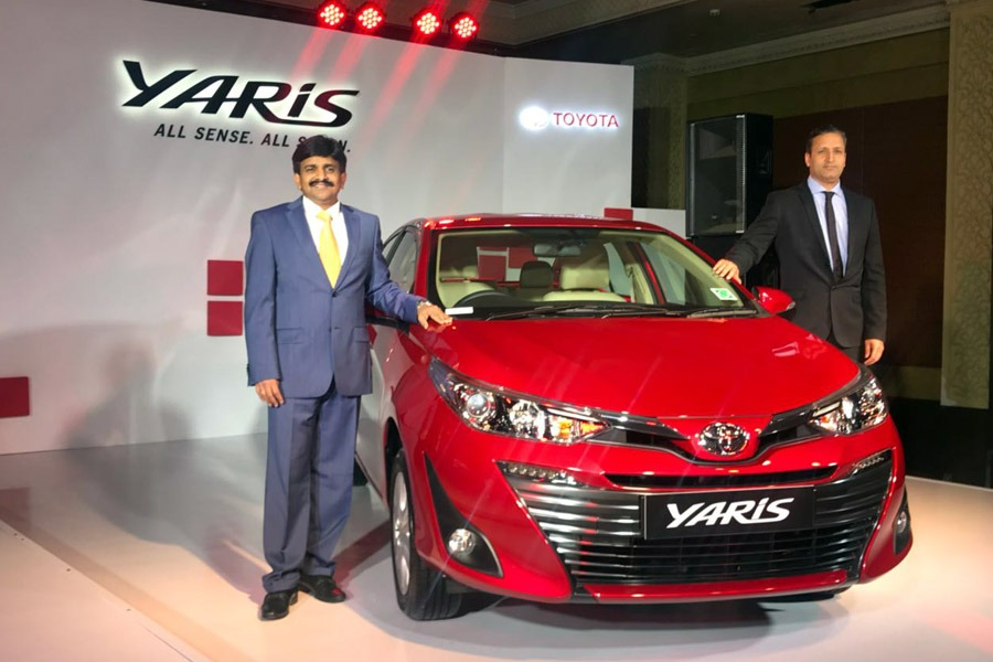 2018 Toyota Yaris Launched in India Priced from INR 8.7 lac 22
