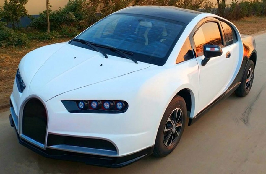Chinese LSEV that looks like a Bugatti Chiron 1