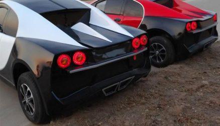 Chinese LSEV that looks like a Bugatti Chiron 3