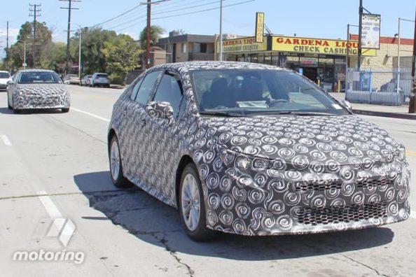 Next Gen Toyota Corolla Spied Again 1