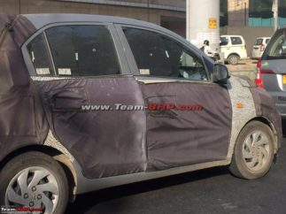 2018 Hyundai Santro Caught Testing in India Ahead of Official Debut 3