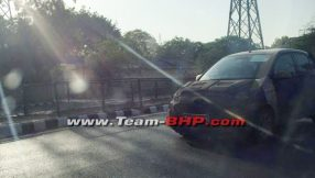 2018 Hyundai Santro Caught Testing in India Ahead of Official Debut 2