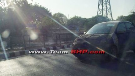 2018 Hyundai Santro Caught Testing in India Ahead of Official Debut 1
