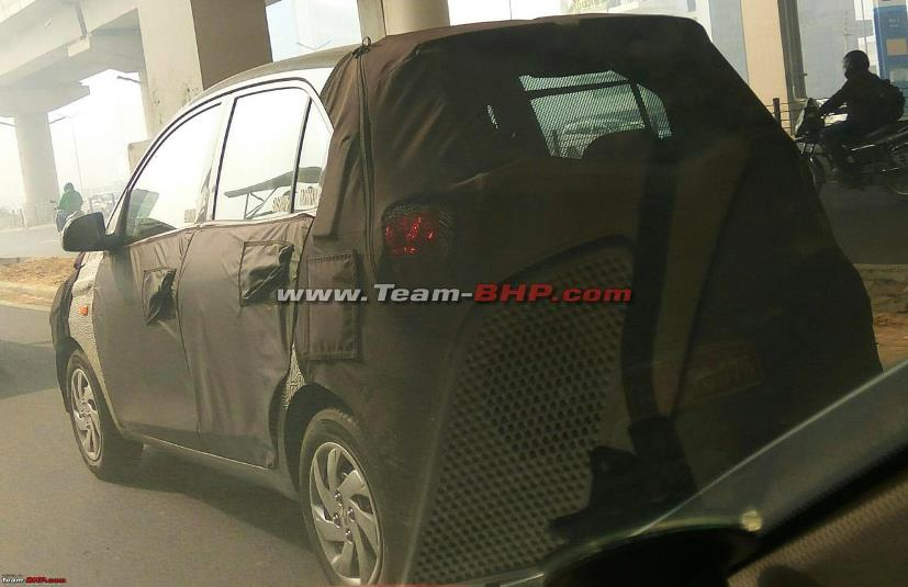 2018 Hyundai Santro Caught Testing in India Ahead of Official Debut 4