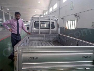 United to Launch 1000cc Punjnad Pickup to Compete Suzuki Ravi 3