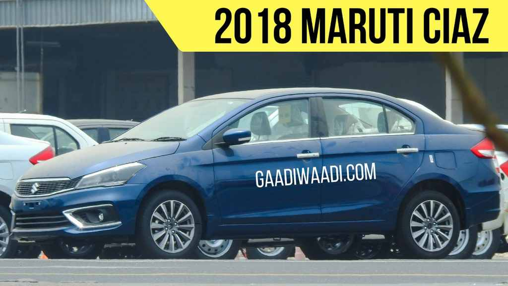 2018 Suzuki Ciaz Facelift to Launch in India in August 5