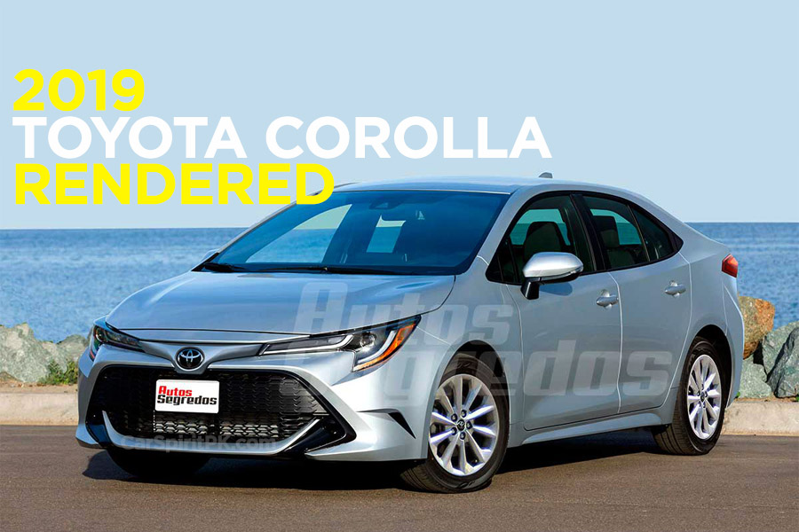 This is how the Next Generation Toyota Corolla Sedan may Possibly Look Like 9