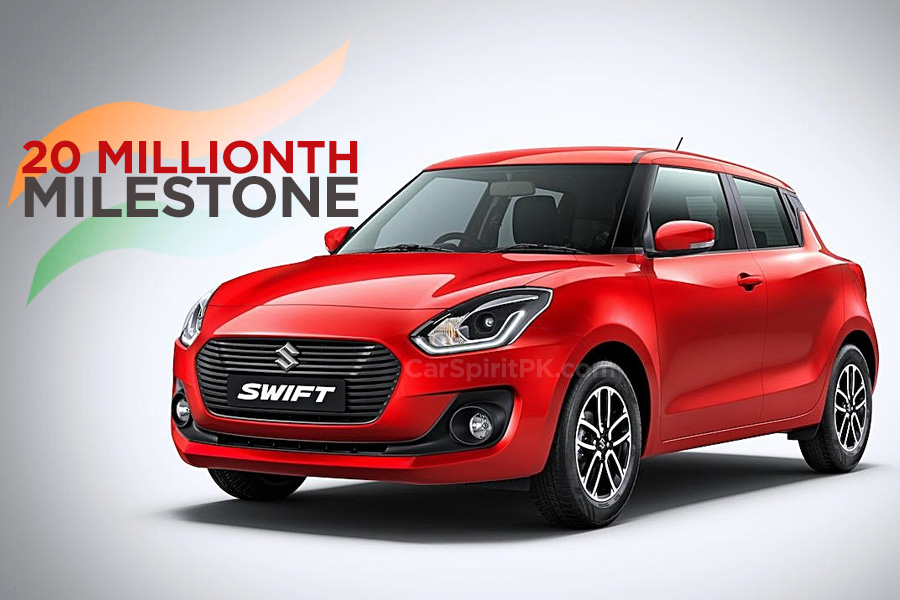 20 Millionth Suzuki Produced in India 3