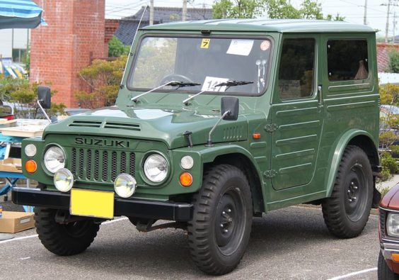 5 Things to Know About the All-New Suzuki Jimny 2