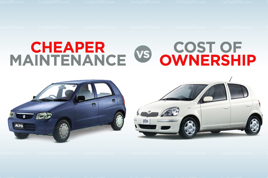 Cheaper Maintenance vs Cost of Ownership 1