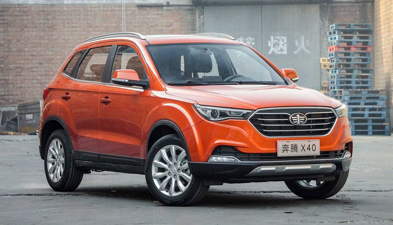 FAW X40 Facelift to be Called as Bestune T33 6