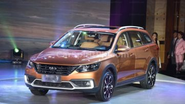 FAW Jumpal CX65 Wagon Launched in China 3