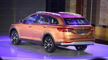 FAW Jumpal CX65 Wagon Launched in China 4