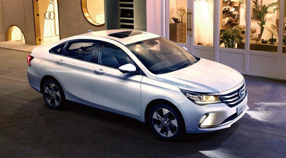 GAC Launches the Trumpchi GA4 in China 3