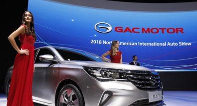 GAC Launches the Trumpchi GA4 in China 6