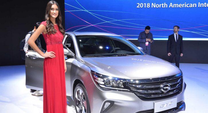 GAC Launches the Trumpchi GA4 in China 8