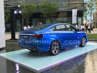 Geely Unveils the All-new BinRui Sedan in China 17