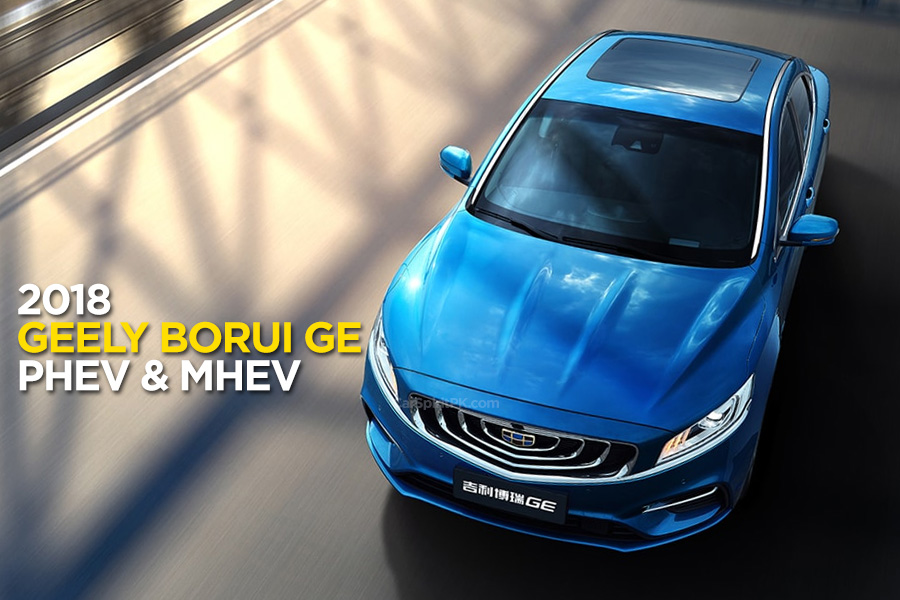 Geely BoRui May Possibly Become the Next Proton Sedan 8