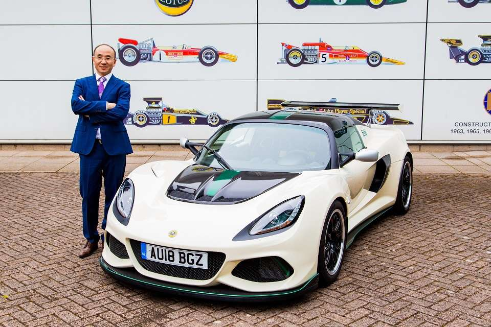 Geely-owned Lotus will be led by Chinese CEO 12
