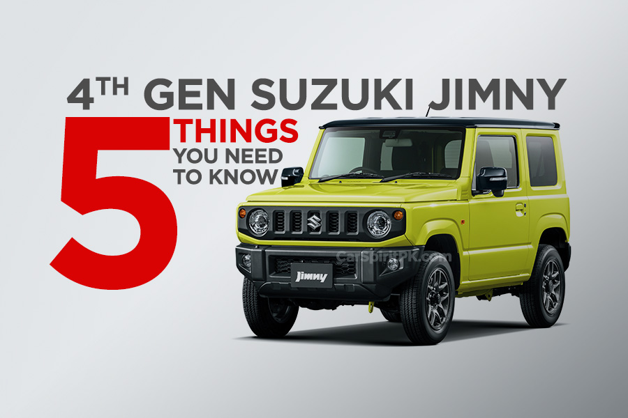 5 Things to Know About the All-New Suzuki Jimny 18