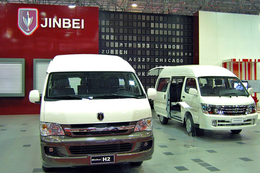Jinbei Launches Range of Vans and Minivans in Pakistan 6