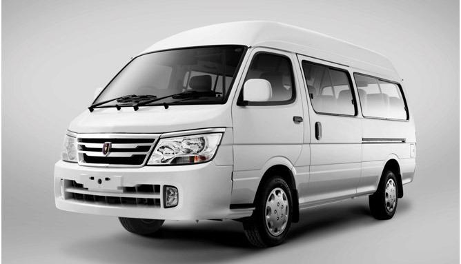 Jinbei Launches Range of Vans and Minivans in Pakistan 4