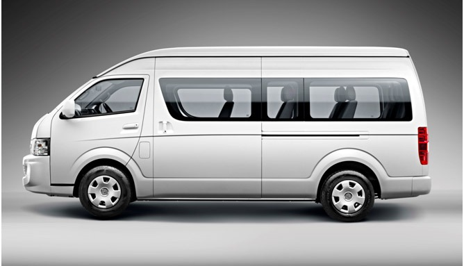Image result for Jinbei has launched Jinbei X30 and X30L vans in Pakistan.