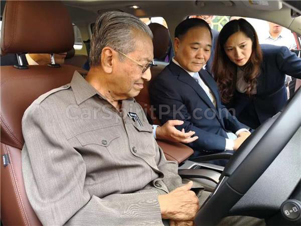 Malaysian Prime Minister Dr. Mahatir Mohammad Impressed with Geely Boyue 4
