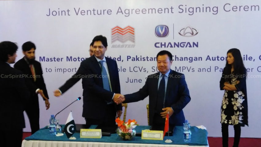 Master Motors and Changan Signs Joint Venture Agreement 2