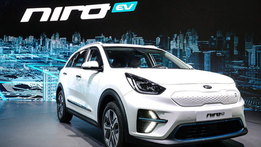 Kia Reveals the All-Electric Niro EV 7