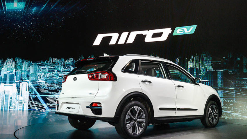 Kia Reveals the All-Electric Niro EV 8