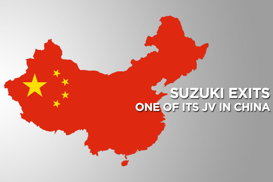 Suzuki Exits One of its Joint Venture in China 11