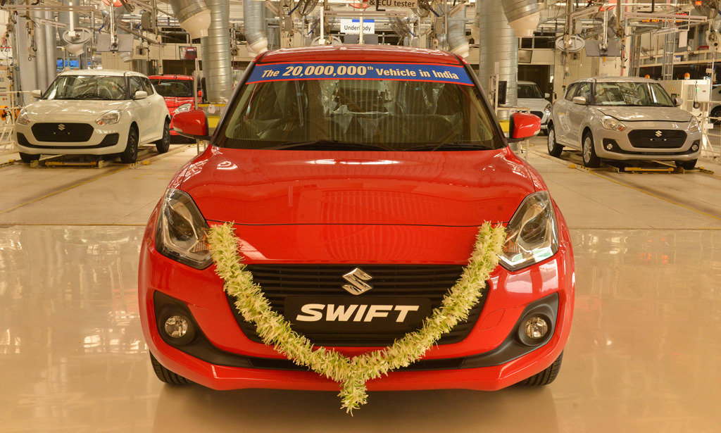 20 Millionth Suzuki Produced in India 1