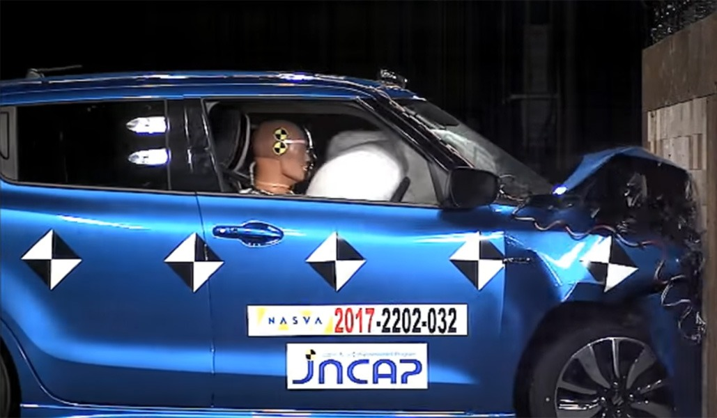 Suzuki Swift Gets 5-star Safety Rating from JNCAP 14