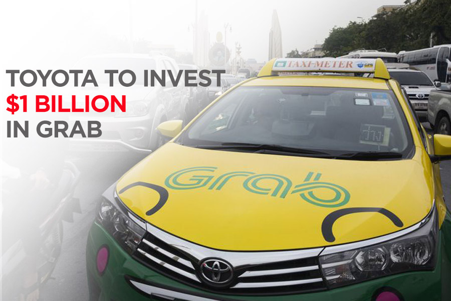 Toyota to Invest $1 Billion in Grab Ride Hailing 26