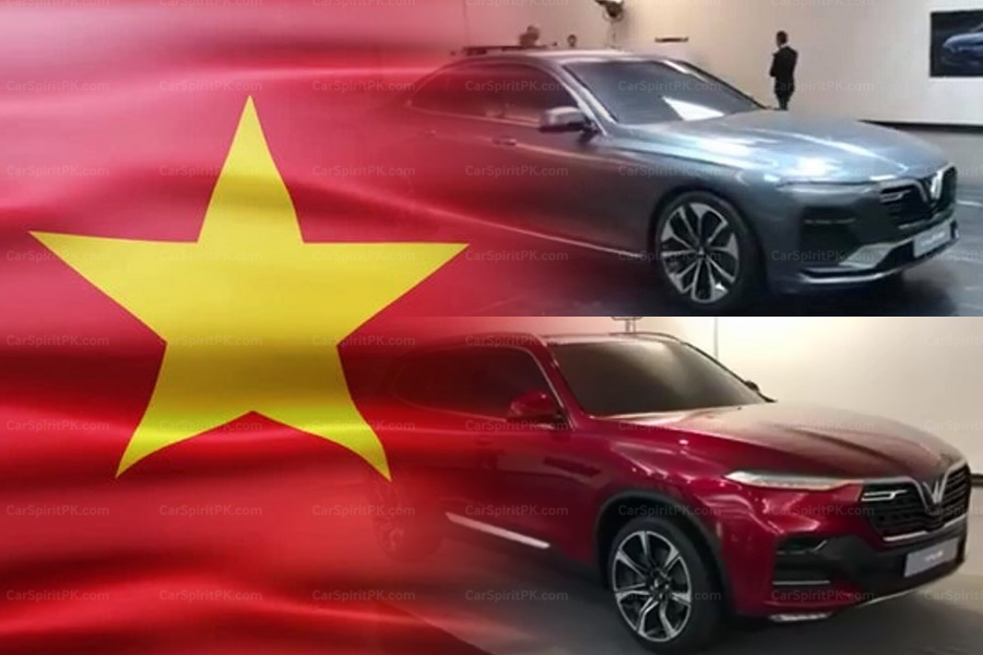 Production Models of VinFast- Vietnam's First Cars Revealed 3