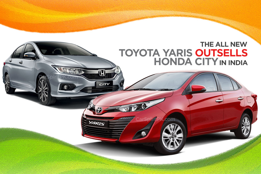 Toyota Yaris Outsells Honda City in India 1