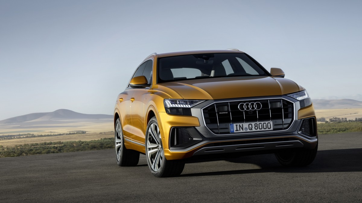 All New 2018 Audi Q8 SUV Unveiled 1