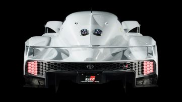 Toyota has Confirmed Development of a Road-going Hypercar 5