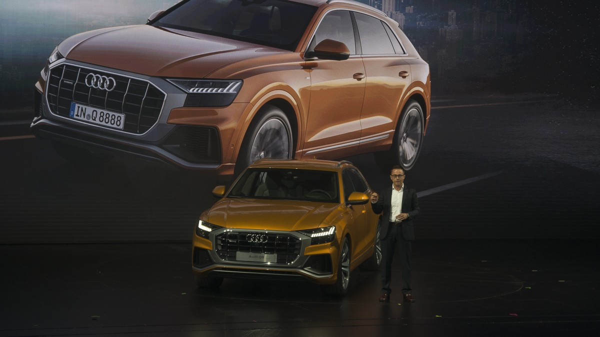 All New 2018 Audi Q8 SUV Unveiled 4