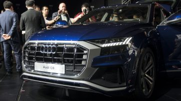 All New 2018 Audi Q8 SUV Unveiled 18
