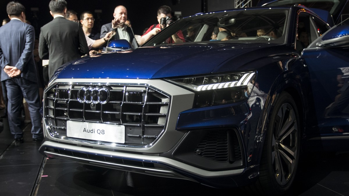 All New 2018 Audi Q8 SUV Unveiled 2