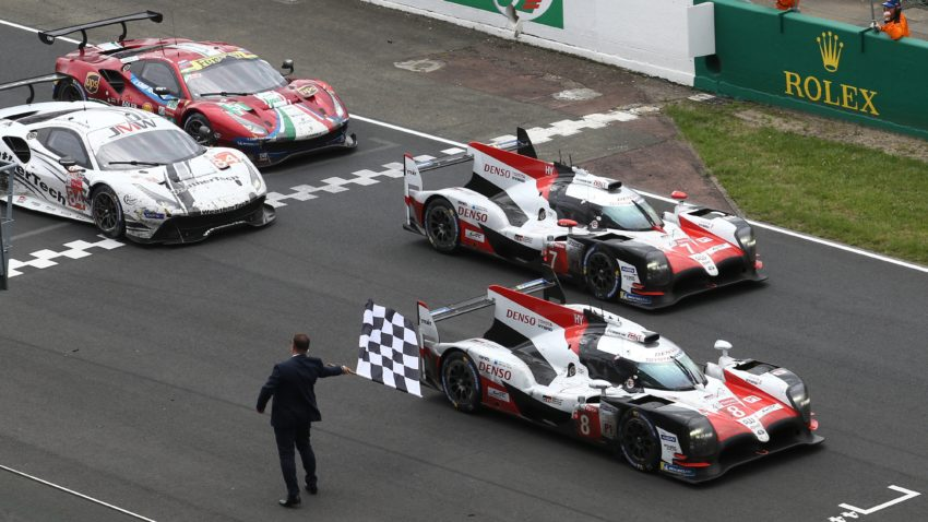 Toyota Wins the 2018 Le Mans 24 Hours! 3