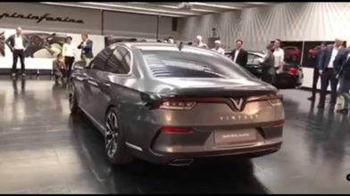 Production Models of VinFast- Vietnam's First Cars Revealed 3